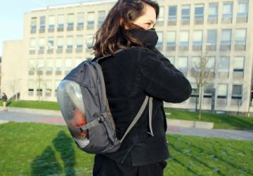 Un sac à plantes pour se protéger de la pollution de l'air