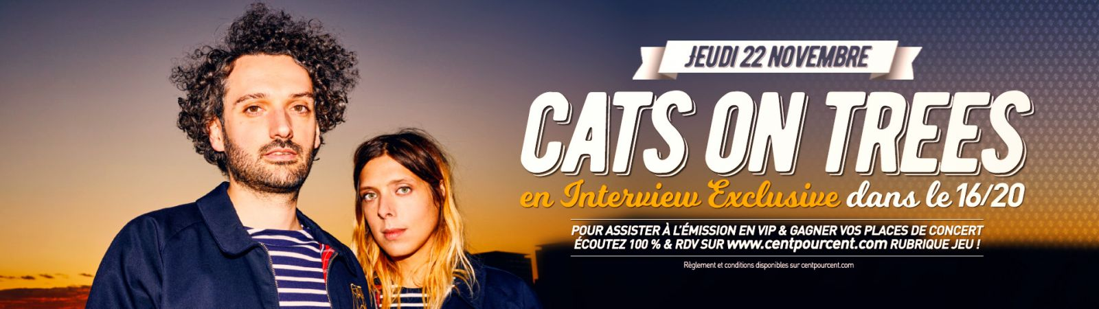 Cats on tree en direct dans le 16 20